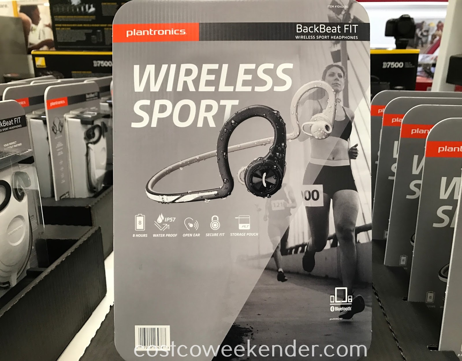 Listen to some music while you exercise with the Plantronics BackBeat FIT Wireless Sport Headphones
