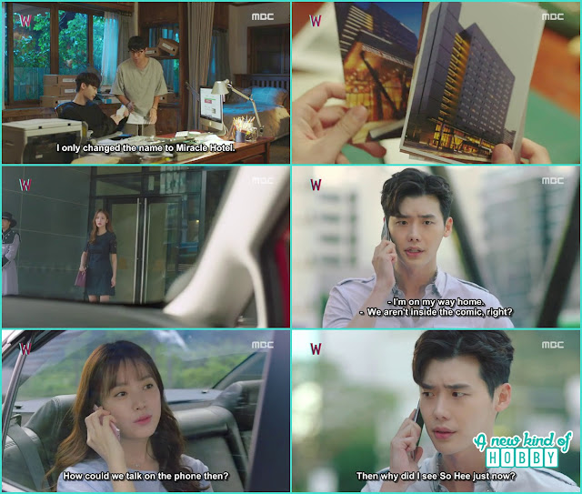kang chul saw soo hee while he was in the real world - W - Episode 13 Review - The Hypothesis & Unexpected Twist