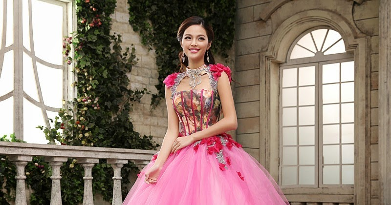 Pre-Wedding Photography Pink Ball Gown :: My Gown Dress