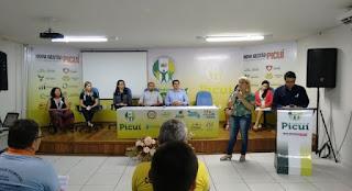 Em Picuí, evento reuniu homens para mesa redonda sobre Violência contra Mulher
