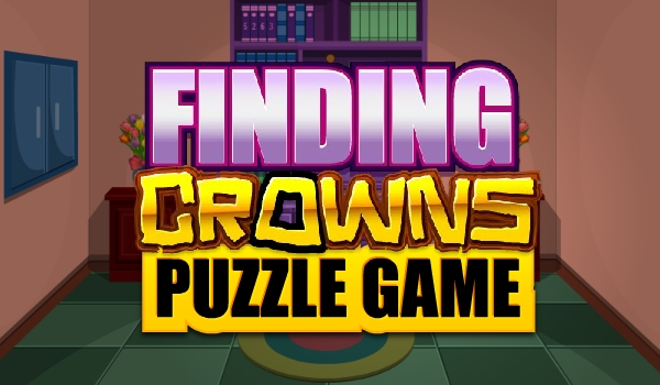 MeenaGames Finding Crowns Puzzle Escape