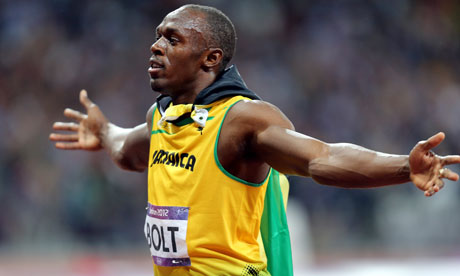 He's Usain Bolt (Everything Else Is Just Noise)