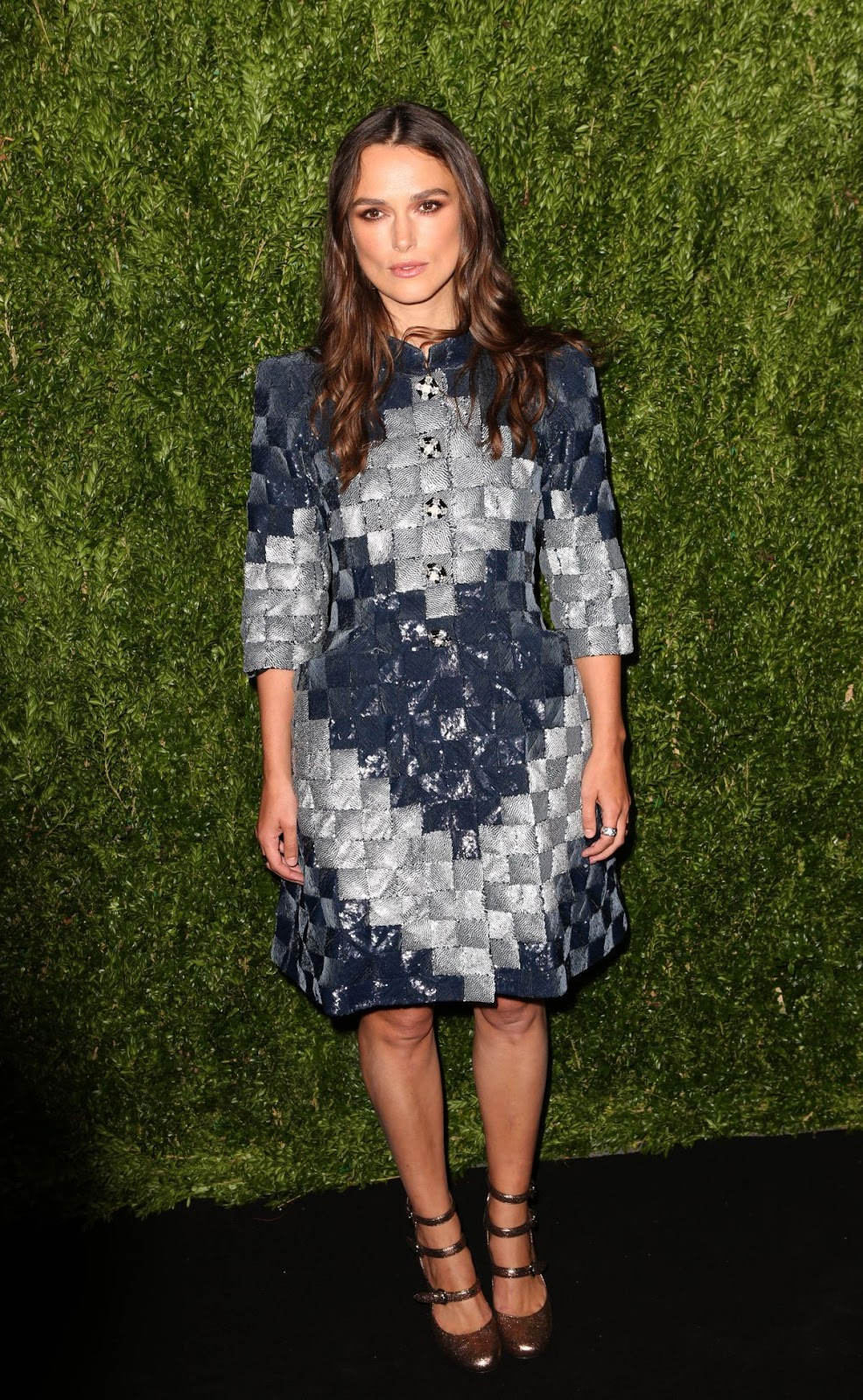 HQ Photos of Keira Knightley At Chanel Fine Jewelry Dinner At Bergdorf Goodman In New York