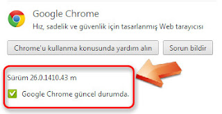 Google Chrome 26.0.1410.43 m yükle