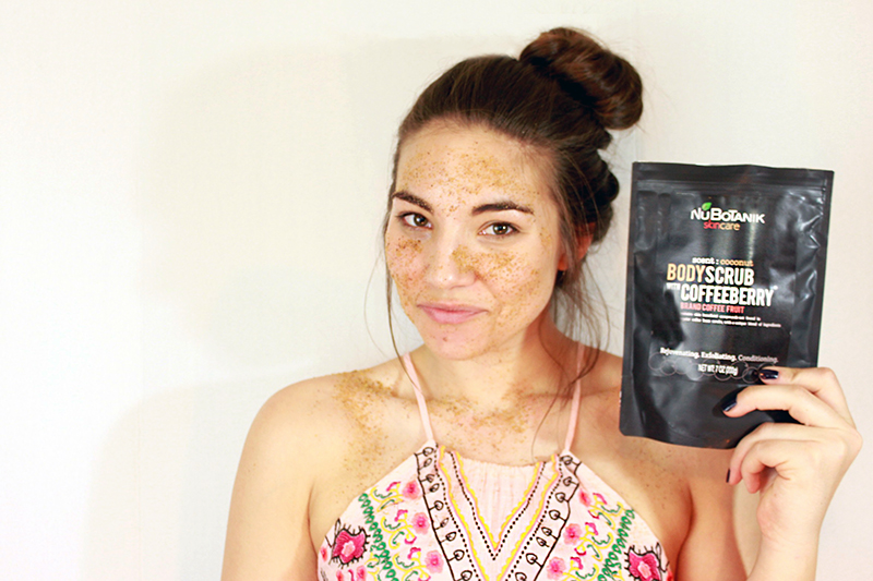 Nubotanik coffee scrub