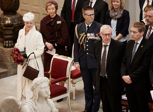 Danish Queen Margrethe attended church service on the occasion of the 100th anniversary of Southern Jutland's reunion with Denmark