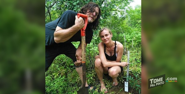 Norman Reedus The Walking Dead vacaciones en Costa Rica