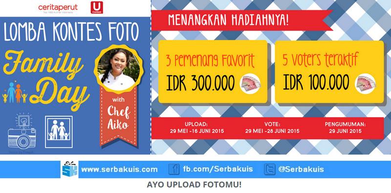Kontes Foto Family Day Berhadiah Uang Total 1,4 Juta