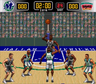 【MD、SFC】NBA Live 95(實況NBA),懷舊的籃球運動遊戲!