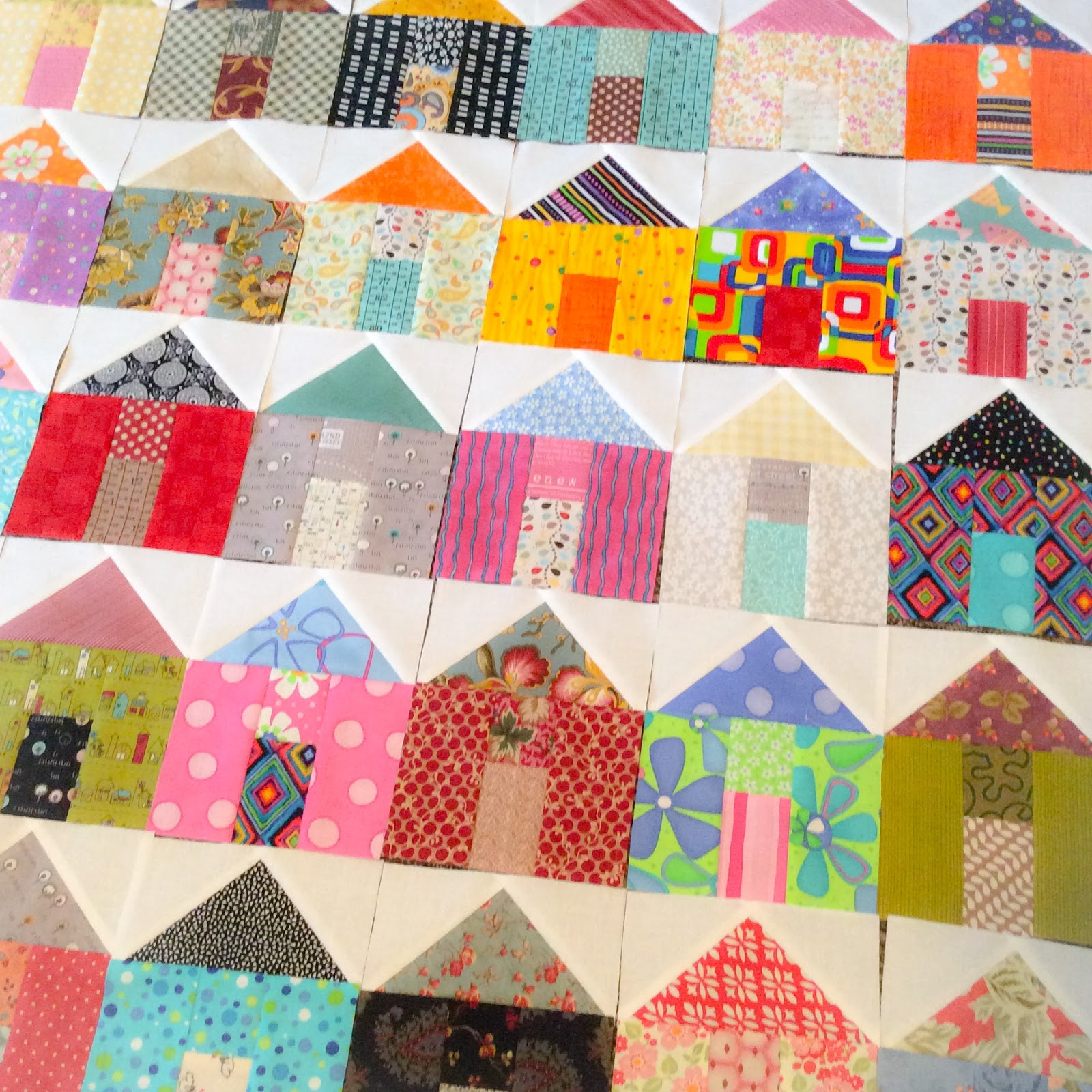 House quilt blocks a quilting life for House pattern