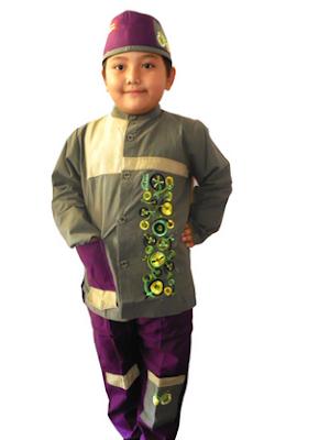 Model Pakaian Muslim Anak Laki - Laki Modern Terbaru