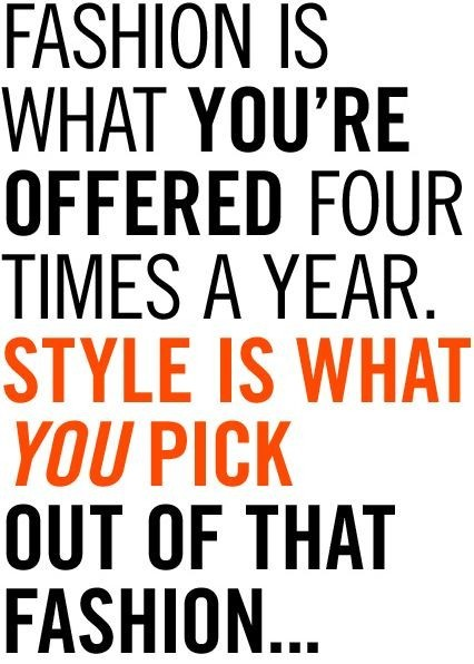quotes about fashion and life - photo #8