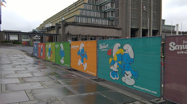 The Smurf Experience, Brussels
