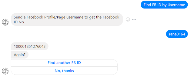 FB ID Finder Bot