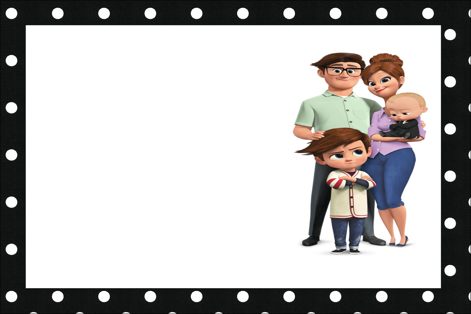 The Boss Baby Party Free Printable Invitations