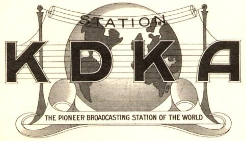 Image result for first religious radio broadcast of kdka