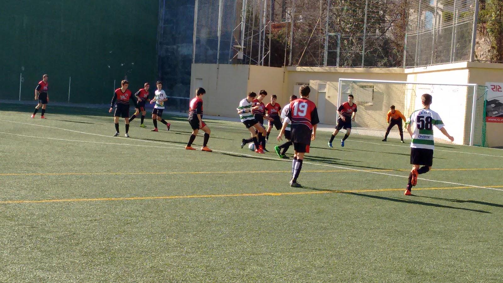 La salle bonanova futbol juvenil b 2015 16 esperando for Piscina la salle bonanova
