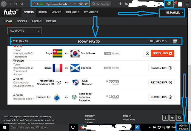 Fubo TV Premium Account | Fubotv Login and Password