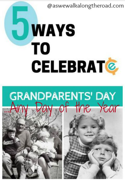 Ideas for celebrating Grandparents Day