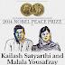 Kailash Satyarthi y Malala Yousafzai, ganadores del Premio Nobel de la Paz 2014
