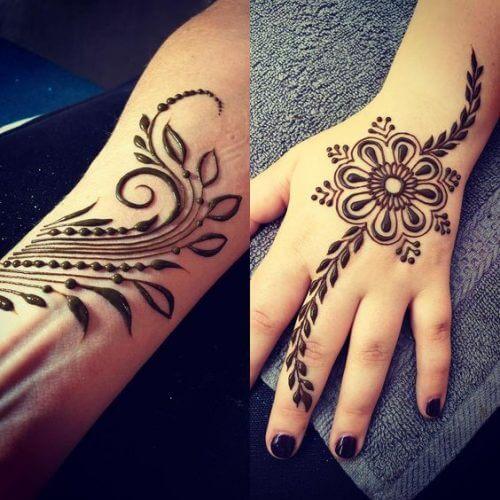 Arabic Henna Designs White Free Download