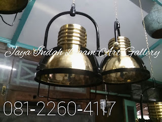 Lampu Gantung Kuningan , lampu tembaga, kerajinan tembaga dan kuningan, pusat supplier