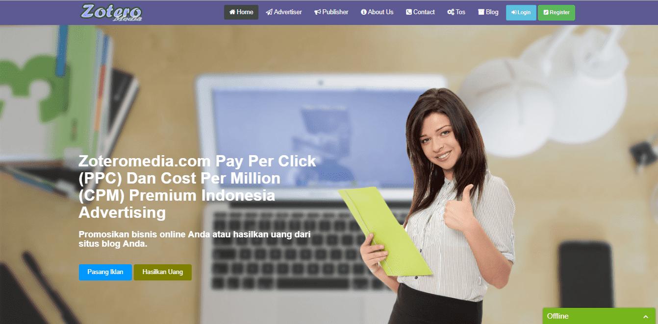 Zoteromedia, Cara Mudah Menghasilkan Uang dari Ngeblog