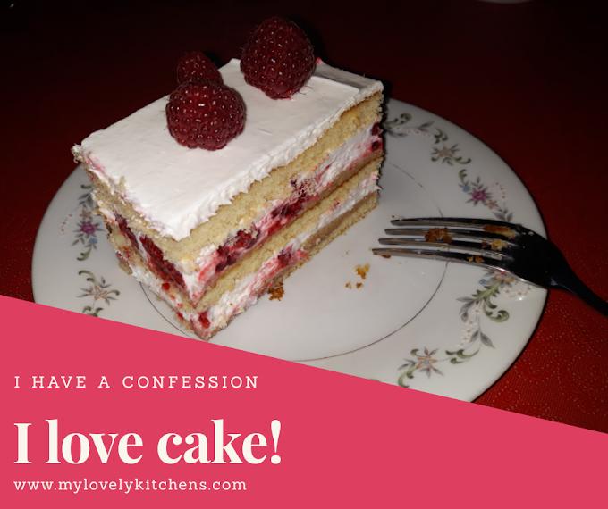 Majina malina torta