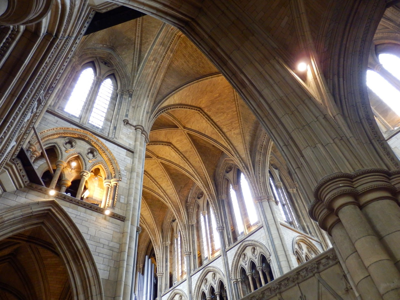 Inside Truro Cathedral, Cornwall