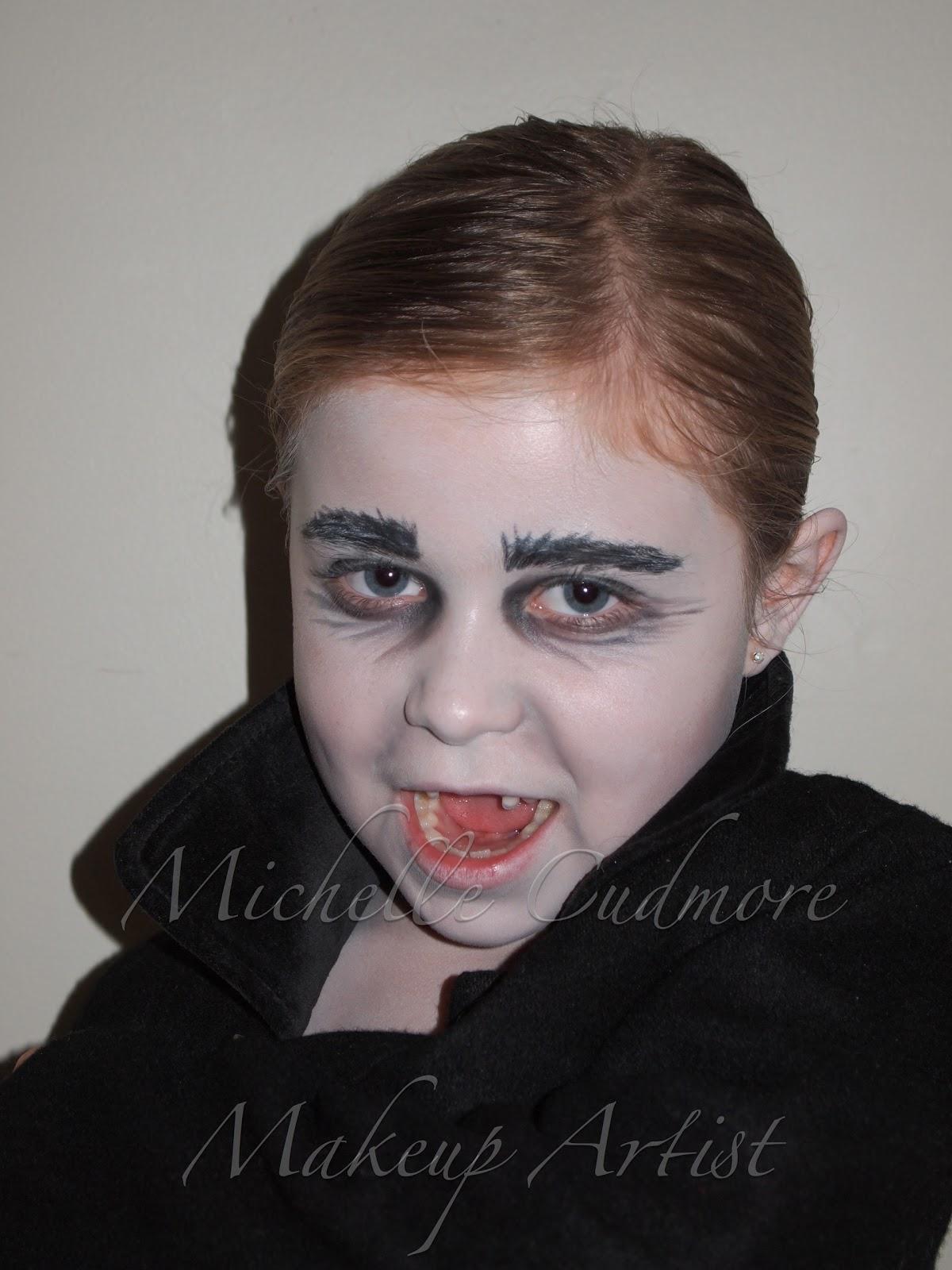 PEI Makeup Artist: Kids Halloween Makeup
