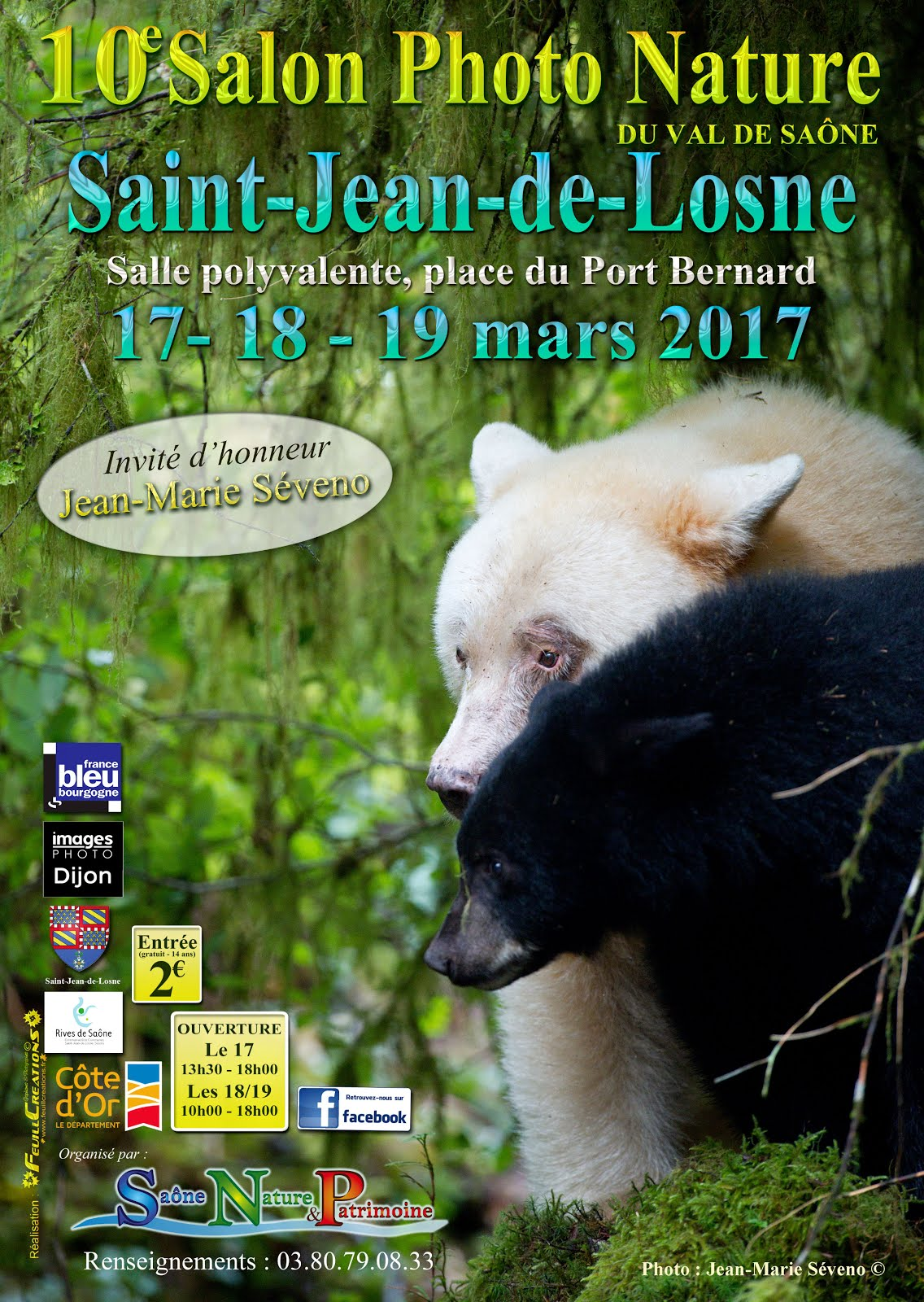 L'affiche du 10e Salon Photo Nature