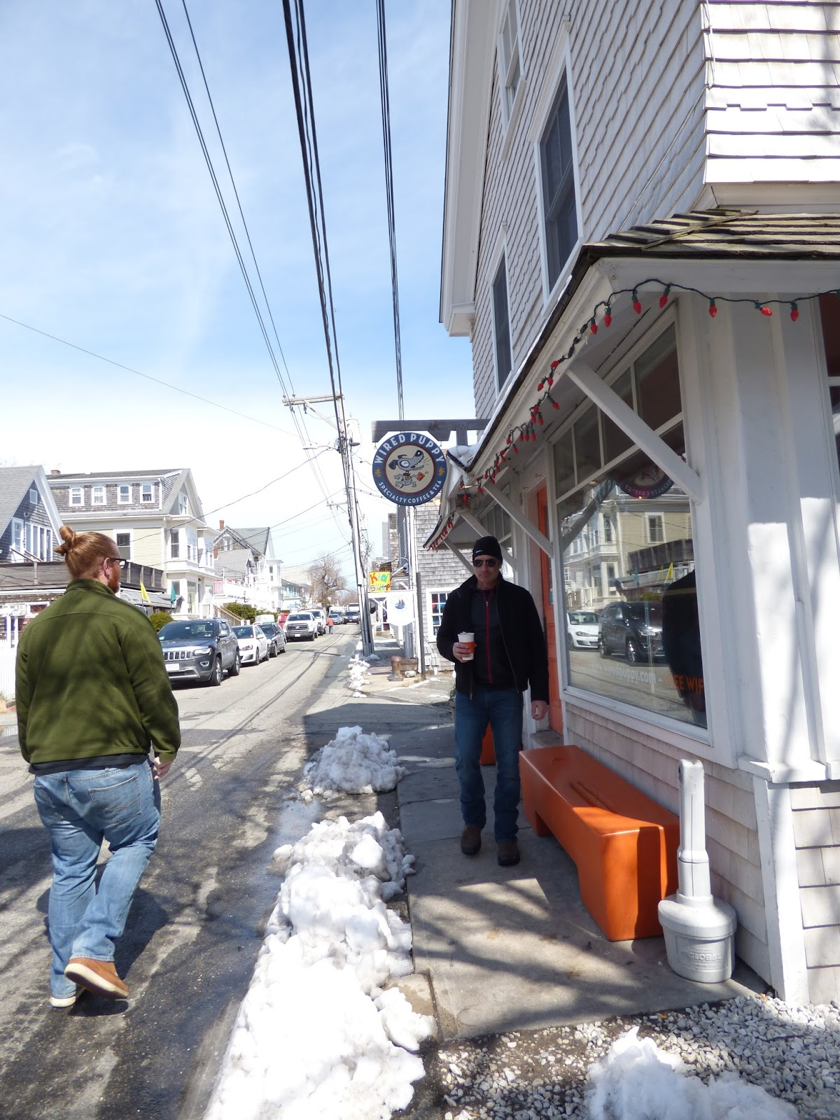 Geography of Coffee Shoppes: The Wired Puppy- Provincetown, MA