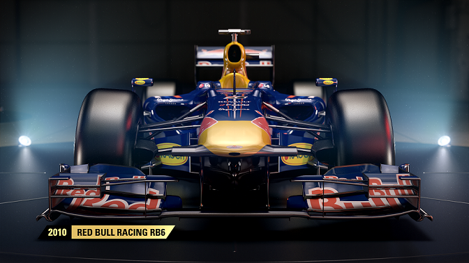 Red Bull Racing B6 regresa a F1 2017