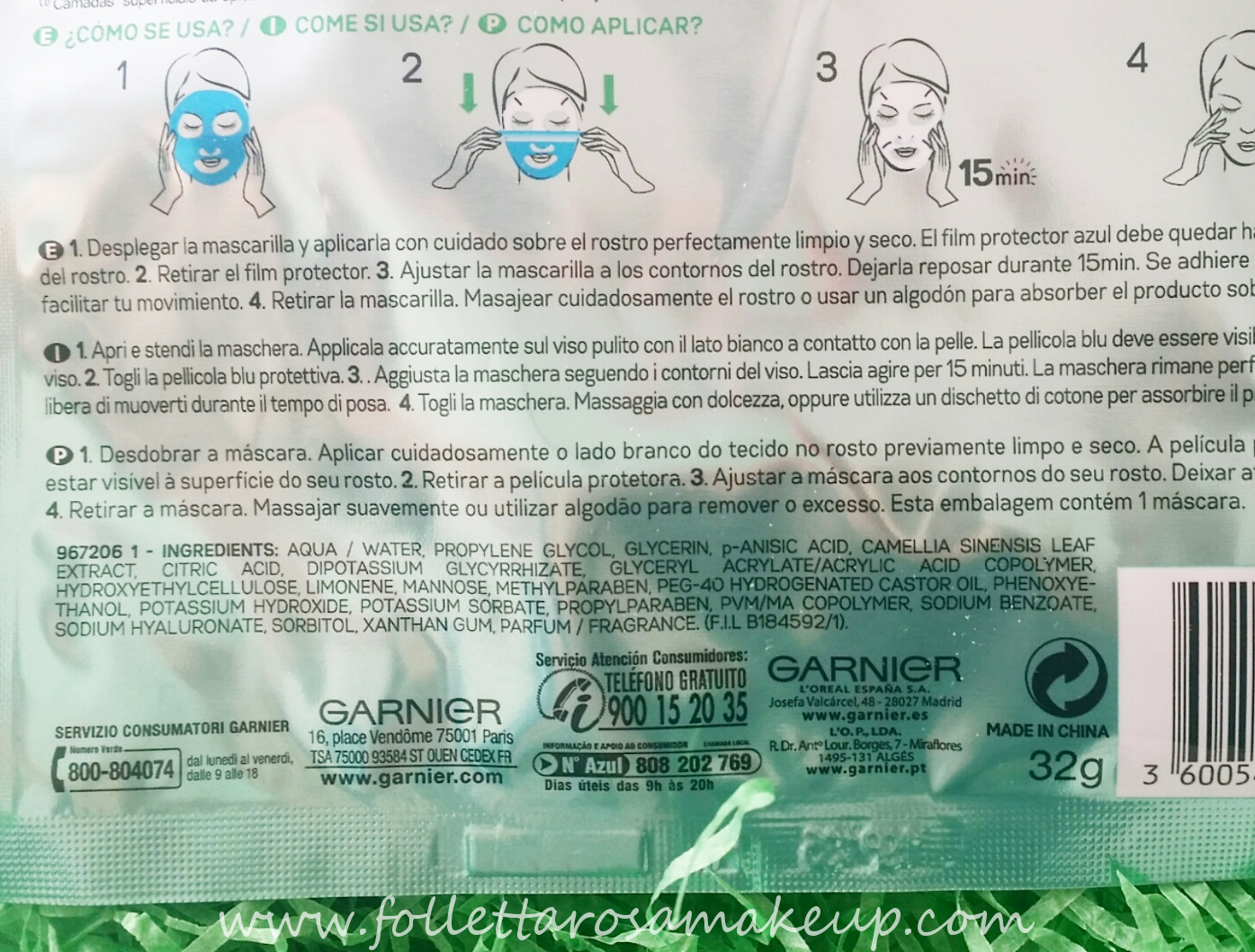 garnier-maschera-hydra-bomb-opacizzante-inci