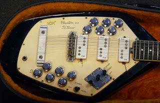 винтажная гитара Vox
