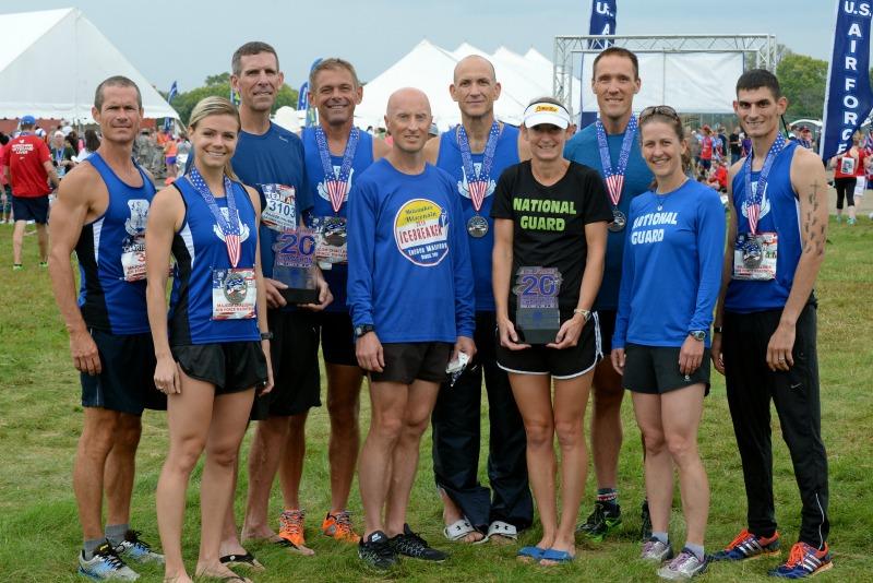 Air Force Marathon, MAJCOM Challenge, Air National Guard Marathon Team,