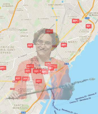 Moratoria de pisos ilegales en Barcelona