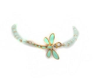 trendy dragonfly bracelet