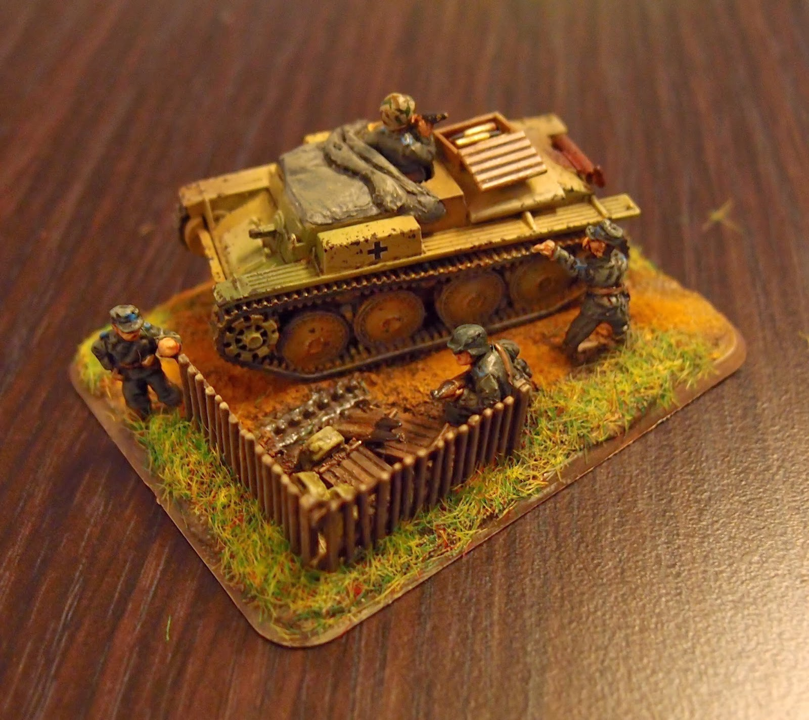 Flames of War Army: Scenic objective marker: Munitionsschlepper 38