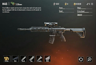 PUBG Gun M416 States. The AKM is a high harm for each projectile strike rifle, that is the reason it has a power rating of 42 and this is where this rifle truly excels, it has the highest power rating of all assault rifles in player unknown's battlegrounds. The effective range is 60 and the stability of the AKM is rated at 34. Which is also great. The firing rate is 61 and unfortunately, this is the biggest weakness of the AKM because all other assault rifles have better statistics for firing rate.