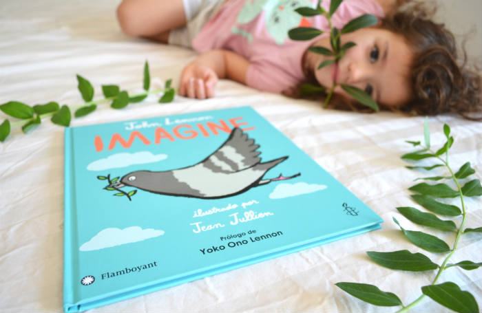 cuento infantil paz imagine de la canción de john lennon editorial flamboyant