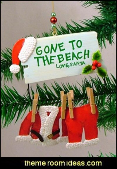 beach themed christmas ideas handmade beach themed christmas