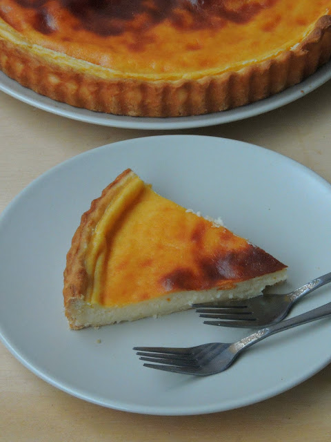 Tarte au flan Parisien, Parisian Custard Pie