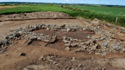 Archaeologists uncover buried village on Anglesey