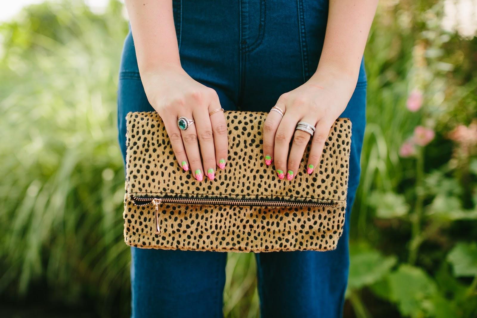 Tara Lynns Boutique, Leopard Clutch, Leopard Print