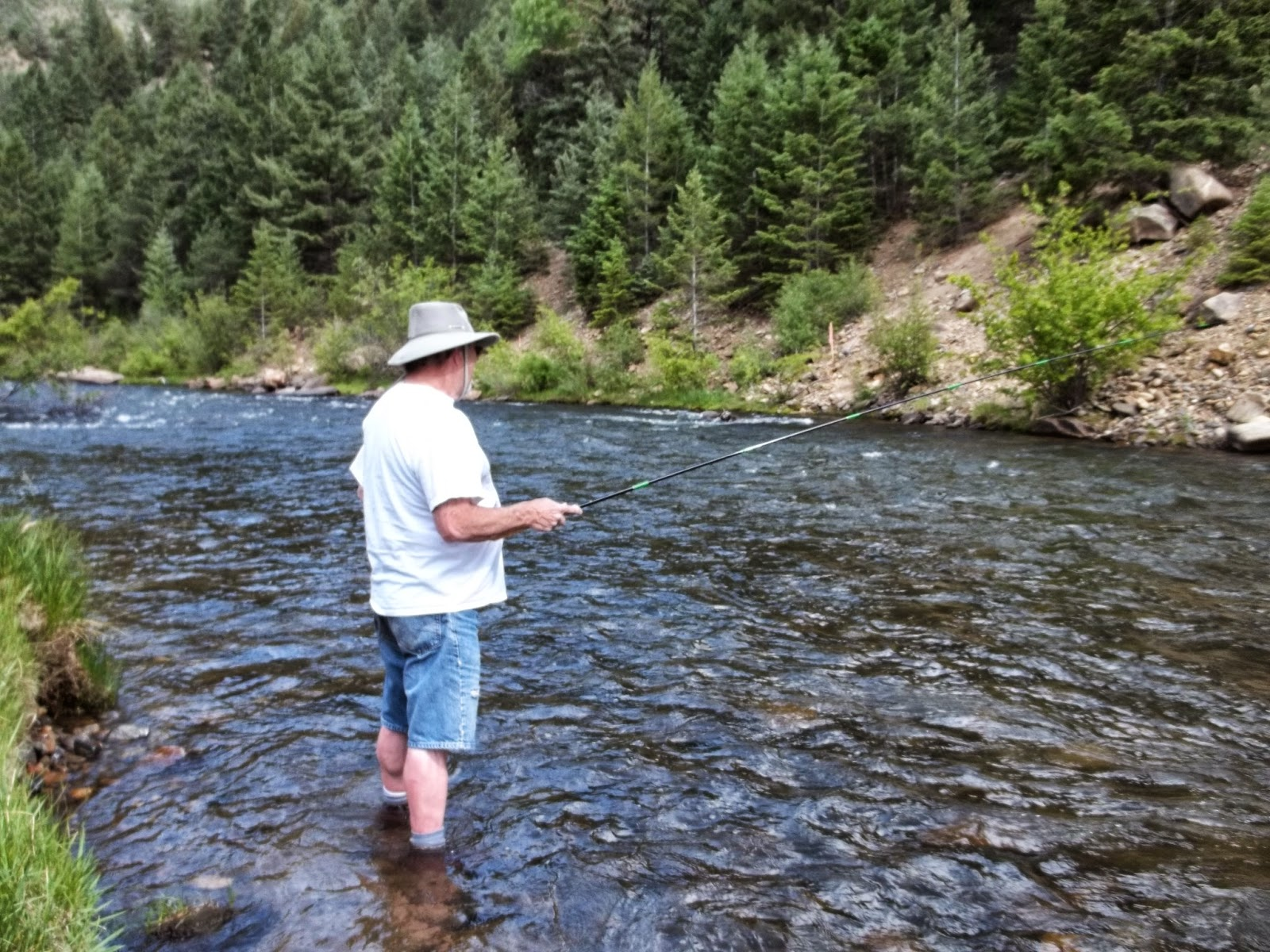 Fly fishing clear creek canyon windknots tangled lines for Clear creek fishing