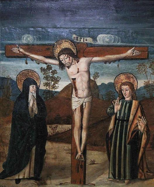 Crucificação, catedral de Lille, França.