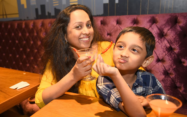 11. Vaishali Samant with Son