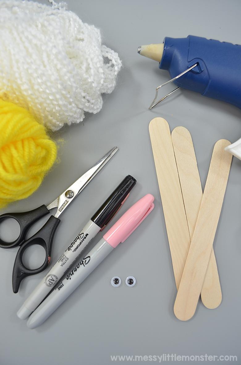 How to make yarn angel ornaments