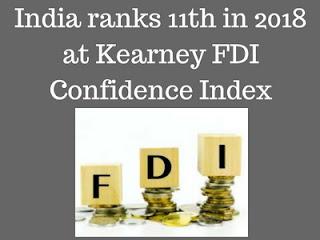 India ranks 11th in 2018 FDI